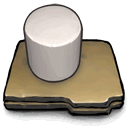 Cylinder, some, White DarkSlateGray icon