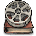movie, Book DarkSlateGray icon