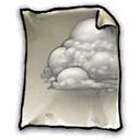 Cloud, some Gray icon