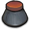 Bottle, lableless, Ink DimGray icon