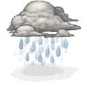 Rain DarkGray icon