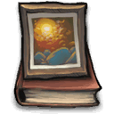 Book, picture DimGray icon