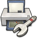 consider, setup, you, please, printer, donating, buuf, Like, utility, Spam Gainsboro icon