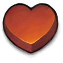 Heart Sienna icon