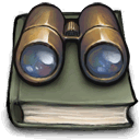 Book, Observation DarkSlateGray icon