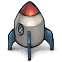Rocket, Are, there, yes, two Gray icon