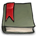 Manage, bookmark DimGray icon