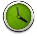 boring, less, Clock OliveDrab icon