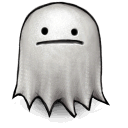 wa, the, made, Ghost, Gimp, version, this Silver icon
