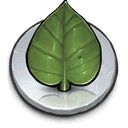 Cd, Leaf DarkOliveGreen icon