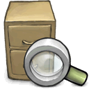 search Gray icon