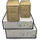 Cabinet, File, Server DarkGray icon