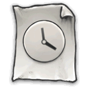 now, Gnome, anytime DarkSlateGray icon