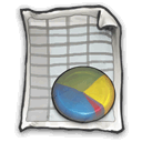 Spreadsheet DarkSlateGray icon