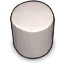 from, Cylinder, White, original, the, version, reengineered DarkGray icon
