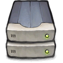 External, Raid DarkGray icon