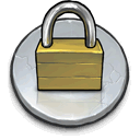 secure, files Silver icon