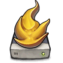 drive, fire Goldenrod icon