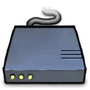 Modem, router SlateGray icon