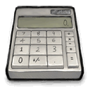 calculator Gray icon
