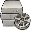 movie, Server DarkGray icon