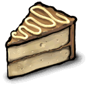 pie, with, Noodle Tan icon