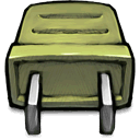 green, plug DarkKhaki icon