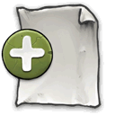 new, document, Page DarkSlateGray icon
