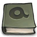 Book, Font DimGray icon