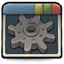 starter, deluxe, Edition, prerelease, pro, window, Cog, candidate, beta DarkSlateGray icon