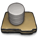 databases DarkSlateGray icon