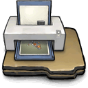 printer DarkSlateGray icon