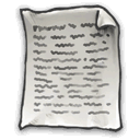 document, Text DarkSlateGray icon