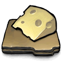 slices, Cheese Icon