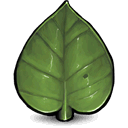 Leaf DarkOliveGreen icon