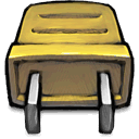 plug, yellow Icon