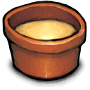 condement, cup, tiny Sienna icon