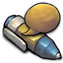 Talking, Pen DimGray icon