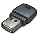 Usb, heh, Dongle DarkSlateGray icon