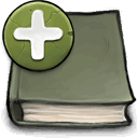 new, Book DimGray icon