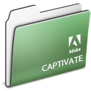 adobe, Captivate, Folder DarkSeaGreen icon