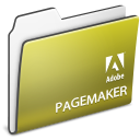 Folder, adobe, pagemaker DarkKhaki icon