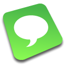 Comment, talk, Chat, speak YellowGreen icon