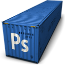 Ps, photoshop DarkSlateBlue icon