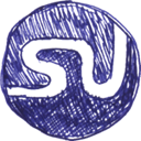 Stumbleupon DarkSlateBlue icon