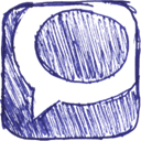 Technorati SlateBlue icon