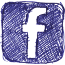 Sn, social network, Facebook, Social DarkSlateBlue icon