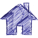 Building, homepage, Home, house SlateBlue icon