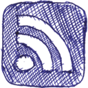 Rss, feed, subscribe DarkSlateBlue icon