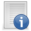 document, File, Text, Readme Gainsboro icon